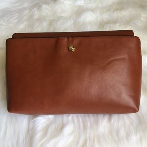 Zara Crossbody Bag with Gold Chain NWT